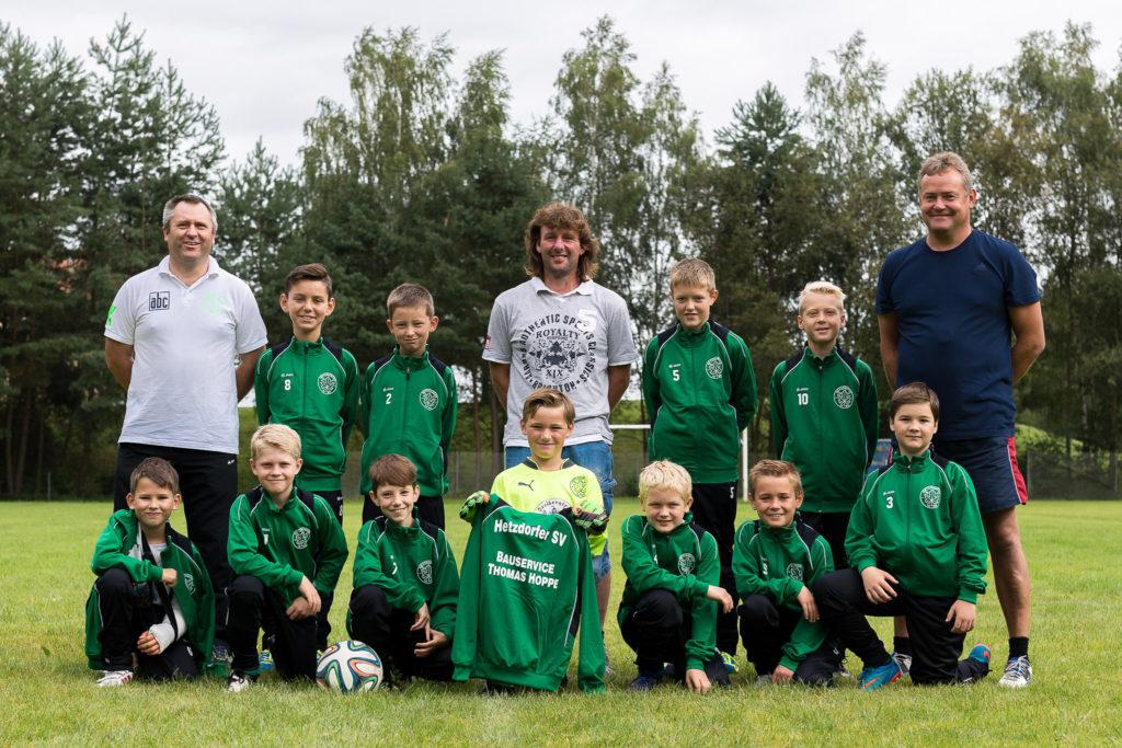 Hetzdorfer SV Fußballmannschaft E-Jugend 1. Mannschaft