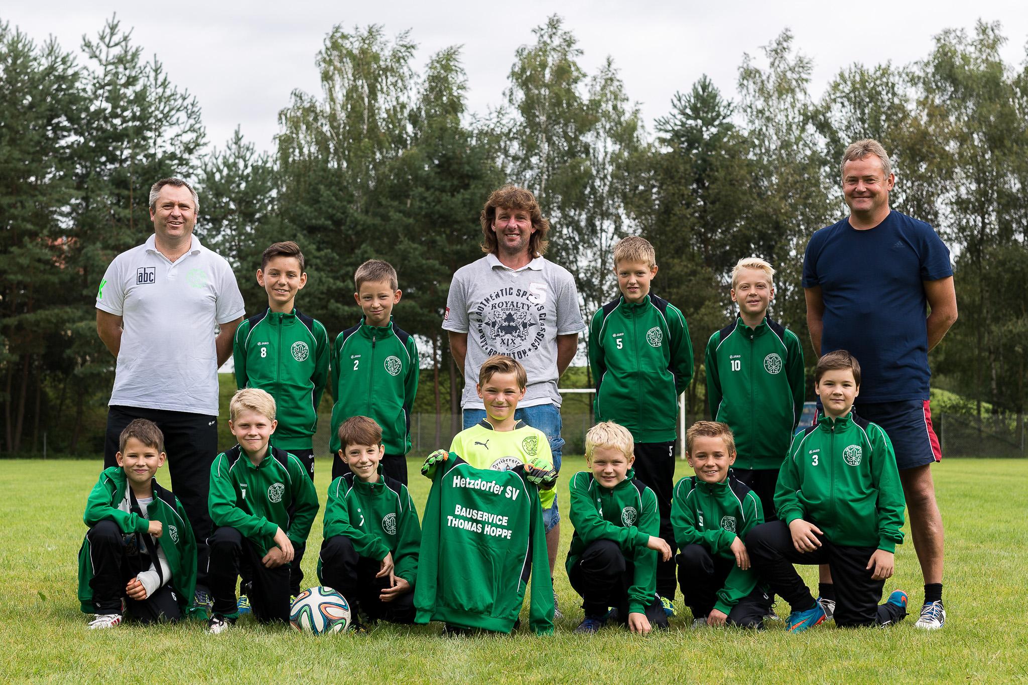 Hetzdorfer SV Fußballmannschaft E-Jugend
