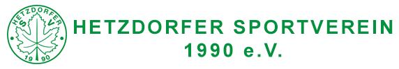 Hetzdorfer SV Logo